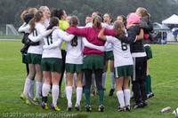 6526 Girls Varsity Soccer v Casc-Chr 101111