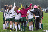 6536 Girls Varsity Soccer v Casc-Chr 101111