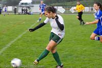 6587 Girls Varsity Soccer v Casc-Chr 101111