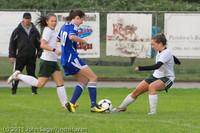 6615 Girls Varsity Soccer v Casc-Chr 101111