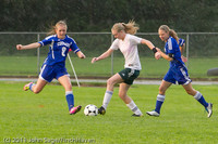 6658 Girls Varsity Soccer v Casc-Chr 101111