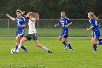 6663 Girls Varsity Soccer v Casc-Chr 101111