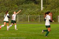 6685 Girls Varsity Soccer v Casc-Chr 101111