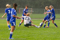 6717 Girls Varsity Soccer v Casc-Chr 101111