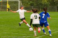 6736 Girls Varsity Soccer v Casc-Chr 101111