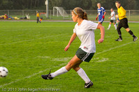 6756 Girls Varsity Soccer v Casc-Chr 101111