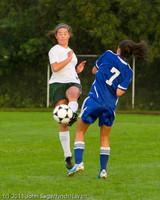 6785 Girls Varsity Soccer v Casc-Chr 101111