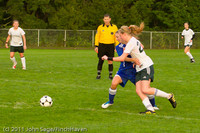 6813 Girls Varsity Soccer v Casc-Chr 101111