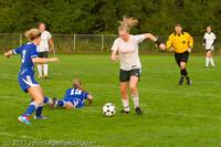 6818 Girls Varsity Soccer v Casc-Chr 101111
