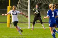 6866 Girls Varsity Soccer v Casc-Chr 101111