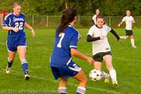 6897 Girls Varsity Soccer v Casc-Chr 101111