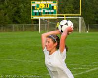 6900 Girls Varsity Soccer v Casc-Chr 101111