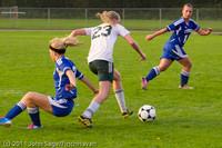 6909 Girls Varsity Soccer v Casc-Chr 101111