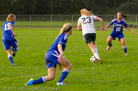 6912 Girls Varsity Soccer v Casc-Chr 101111