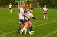 6936 Girls Varsity Soccer v Casc-Chr 101111