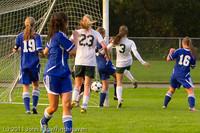 6954 Girls Varsity Soccer v Casc-Chr 101111