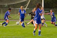 6958 Girls Varsity Soccer v Casc-Chr 101111