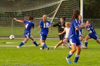 6959 Girls Varsity Soccer v Casc-Chr 101111