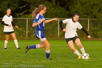 6987 Girls Varsity Soccer v Casc-Chr 101111