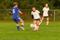 7011 Girls Varsity Soccer v Casc-Chr 101111