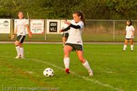7020 Girls Varsity Soccer v Casc-Chr 101111