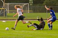 7034 Girls Varsity Soccer v Casc-Chr 101111