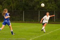 7045 Girls Varsity Soccer v Casc-Chr 101111