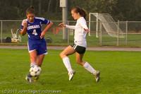 7053 Girls Varsity Soccer v Casc-Chr 101111