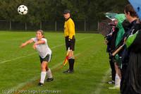 7069 Girls Varsity Soccer v Casc-Chr 101111