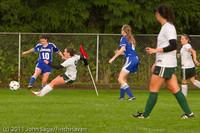 7076 Girls Varsity Soccer v Casc-Chr 101111
