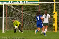 7082 Girls Varsity Soccer v Casc-Chr 101111