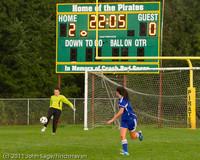 7096 Girls Varsity Soccer v Casc-Chr 101111