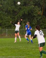 7108 Girls Varsity Soccer v Casc-Chr 101111