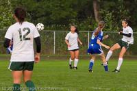 7116 Girls Varsity Soccer v Casc-Chr 101111
