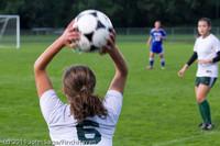 7145 Girls Varsity Soccer v Casc-Chr 101111