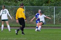 7217 Girls Varsity Soccer v Casc-Chr 101111