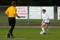 7225 Girls Varsity Soccer v Casc-Chr 101111