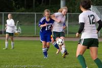 7229 Girls Varsity Soccer v Casc-Chr 101111