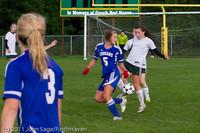 7233 Girls Varsity Soccer v Casc-Chr 101111