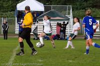 7251 Girls Varsity Soccer v Casc-Chr 101111