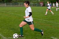 7267 Girls Varsity Soccer v Casc-Chr 101111