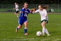 7269 Girls Varsity Soccer v Casc-Chr 101111