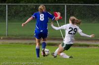 7279 Girls Varsity Soccer v Casc-Chr 101111
