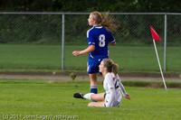 7284 Girls Varsity Soccer v Casc-Chr 101111