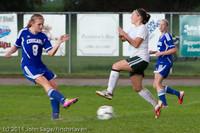7297 Girls Varsity Soccer v Casc-Chr 101111