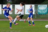7298 Girls Varsity Soccer v Casc-Chr 101111