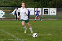 7311 Girls Varsity Soccer v Casc-Chr 101111