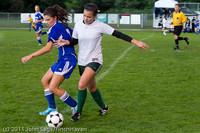 7316 Girls Varsity Soccer v Casc-Chr 101111