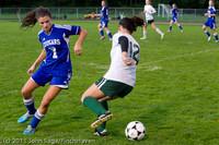 7318 Girls Varsity Soccer v Casc-Chr 101111
