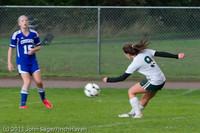 7337 Girls Varsity Soccer v Casc-Chr 101111